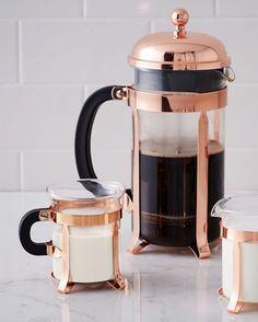 Copper French Press Set