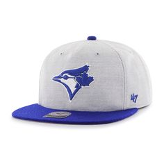 124cf279a70d7 Toronto Blue Jays Lakeview Captain Rf Gray 47 Brand Adjustable Hat