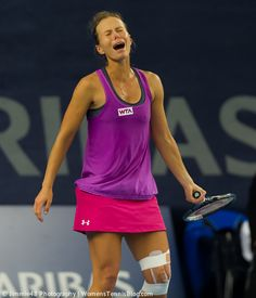 Varvara Lepchenkos cry at the Luxembourg Open 2014 http://www.womenstennisblog.com/2014/10/15/tough-day-top-seeds-luxembourg-highlights/