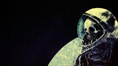 General 1920x1080 space skull astronaut death space art artwork helmet