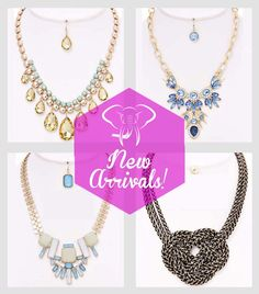 Check out the New Arrivals ! This Summer travel like a Celebrity with this new Statement Necklaces. #MyGlamStyle #fashion #necklaces