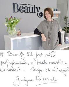 Grazyna Wolszczak poleca Gabinet Kosmetyczny Wrocław Beauty92