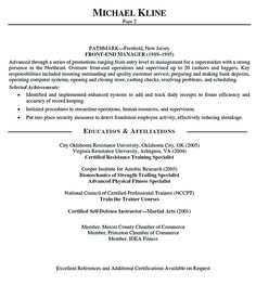 personal trainer resume should explain an expertise area of the trainer who wants to apply the