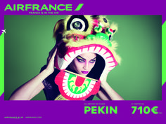 #AirFrance beautiful new ad campaign! #advertising #France #Pekin #Beijing