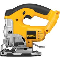 DEWALT Bare-Tool DC330B  18-Volt Cordless Jig Saw with Keyless Blade Change - The DeWalt DC330 is an 18V heavy-duty XRP cordless jig saw. The jig saw consists of keyless blade change system that accepts universal and t-shank blades. The tool free adj