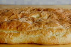 Tämä peltilihapiirakka on paras kaikista - syy taikinassa No Salt Recipes, Bread Recipes, Baking Recipes, Savory Pastry, Savoury Baking, European Cuisine, Toddler Meals, Good Food, Food And Drink