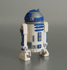 polymer clay R2-D2 by planetjune - what? huh? what? Jeez....how much is Star Wars the game in British pounds?