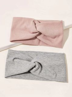2pcs Simple Wide Headband | SHEIN South Africa Thing 1, Wide Headband, Simple Art, Headband Hairstyles, Girls Out, Free Gifts, Fashion News, Headbands, Fall Outfits