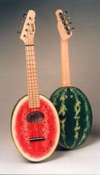 watermelon ukulele is the one that i have i love this thing Ukulele Instrument, Ukulele Art, Cool Ukulele, Ukelele, Ukulele Chords, Guitar Art, Cool Guitar, Acoustic Guitar, Painted Ukulele