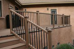 Back porch railing idea