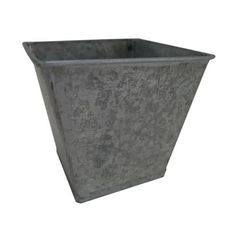 Cheung's FP-3351SQ 3. 25 inch Metal Square Garden Pot Planter *** To view further for this item, visit the image link.