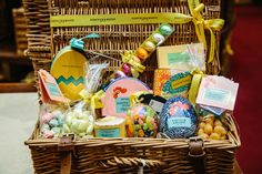 We're full-to-bursting with everything needed for a truly delicious Easter – from extraordinary chickens and devourable chocolates, to hampers filled with sweet treats and fizz. Start planning an unforgettable feast today. #Easter #Hamper #Wicker #Chocolate #Eggs #Bunny #Rabbit #Sweets #Treats #Wonderful #Fortnums #FortnumAndMason