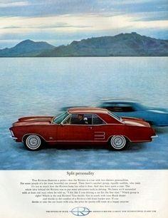 1963 Buick Riviera.