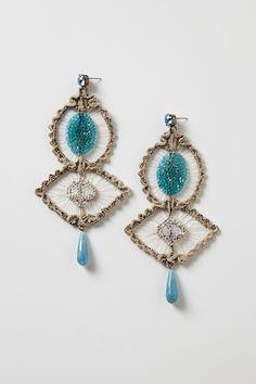 Fait Accompli Earrings - Anthropologie.com