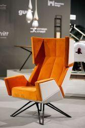 Vienna: Living & Interior 2019 - Sonderschau Design THE LOB chair Pic: Christian Husar Modern Furniture, Furniture Design, Lob, Exhibitions, Vienna, Designer, Solid Wood, Christian, Chair