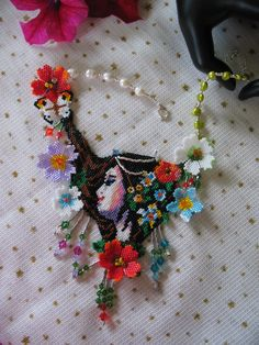 Bead Earrings, Beaded Necklace, Necklaces, Peyote Bracelet, Peyote Stitch, Pearl Beads, Beaded Embroidery, Beadwork, Projects To Try