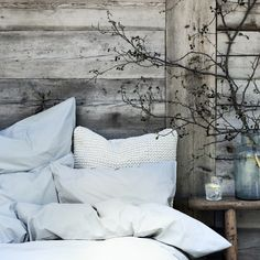 Rustic Cottage, Rustic Farmhouse, Bed Linen, Linen Bedding, Easter Weekend, Happy Easter, Comforters, Bed Pillows, Pillow Cases