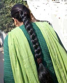 Long Hair Indian Girls, Indian Long Hair Braid, Long Hair Ponytail, Bun Hairstyles For Long Hair, Long Braids, Indian Hairstyles, Beautiful Braids, Beautiful Long Hair, Gorgeous Hair