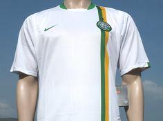 Celtic F.C. Away International Champions League Shirt Season 2006-2008 Unsponsored Player Issue