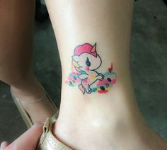 #tattoo #tokidoki #unicorn #rainbow