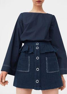 Jupe tweed