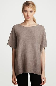 VINCE SWEATER PONCHO