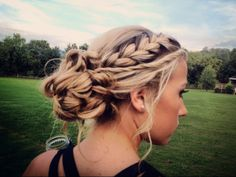 absolutely LOVED my hair last night