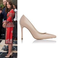 7157b2adcbd LK Bennett Fern Trench Leather Pumps - Kate Middleton Shoes