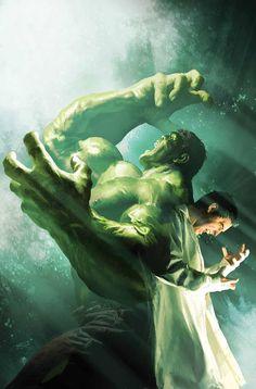 Incredible Hulk by Michael Komarck