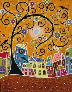 Pek Güzel Şeyler: Karla Gerard'ın Ağaçları