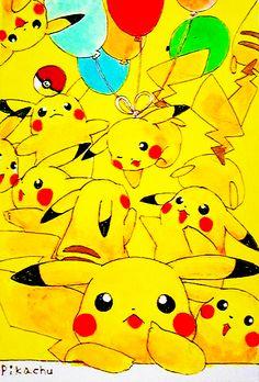 Pikachu (by のぺ, Pixiv Id 3884041)