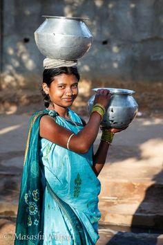 Indian girl ,kelala,  taken by Masashi Mitsui.
