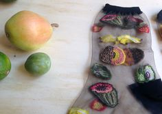 Healthy Collection / Black Color / Fruits Flavors Visit us on: http://cargocollective.com/florsocks