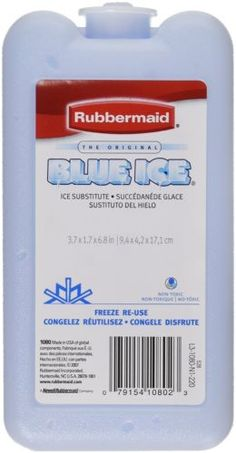 Rubbermaid-Blue-Ice-Block-Non-Toxic-Reusable-1-Pack-Blue-Color-New