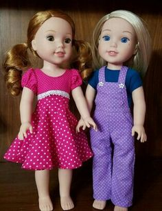 #welliewishers Camille and Willa