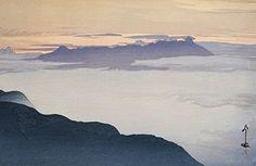 "Japanese Art Print ""Yatsuga Mountain after Rain (Ugo No Yatsuga-Take)"" from the Series ""Southern Japanese Alps"" by Yoshida Hiroshi. Shin Hanga and Art Reproductions http://www.amazon.com/dp/B00YMK0YL4/ref=cm_sw_r_pi_dp_R-Tuwb15S4R6F"