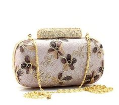 ImPrincess BAGS08986-xp evening bag Champagne Rhinestone compound metal decorate with rhinestones