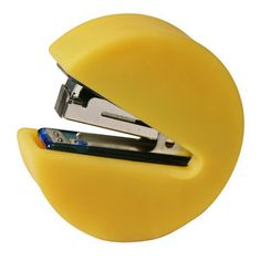 Pac-Man Stapler, $12, now featured on Fab.