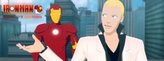 Iron Man: Armored Adventures - Tony Stark/Iron Man and Justin Hammer/Titanium Man (villain)