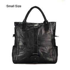 Large/Small Size Female Tote Bag Famous Designer Women Handbags Genuine Leather