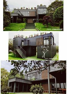 Shipping containers 335799715969943652 - Container House – China – Container Hacker Source by Building A Container Home, Container Buildings, Container Architecture, Architecture Old, Sustainable Architecture, Container Cabin, Cargo Container, Container Store, Contemporary Architecture