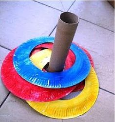 Toilet Paper Roll Crafts - Get creative! These toilet paper roll crafts are a great way to reuse these often forgotten paper products. You can use toilet paper rolls for anything! creative DIY toilet paper roll crafts are fun and easy to make. Kids Crafts, Paper Plate Crafts For Kids, Toilet Paper Roll Crafts, Toddler Crafts, Toddler Fun, Toddler Learning, Diy Paper, Crafts Cheap, Toddler Games