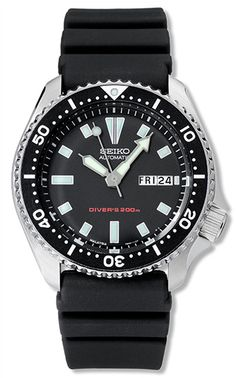 Seiko SKX173 Mens Watch Dive Watch Automatic 200m