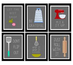 Will deffo have these cute kitchen printables in new kitchen ! - All Home Decors Kitchen Prints, Kitchen Wall Art, Kitchen Signs, Kitchen Canvas, Kitchen Quotes, Bathroom Wall, Cute Kitchen, New Kitchen, Art For The Kitchen