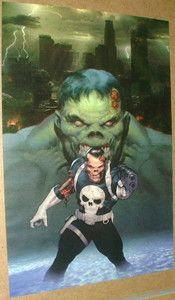 Zombie Punisher & Zombie Hulk!
