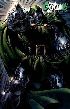 Dr Doom #Villains #Comics #Books