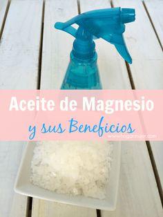 Aceite de magnesio #diy #magnesiumoil #aceitedemagnesio #hazlotumisma #salud #healthytips