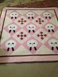 February 4 - Check Out Today's Featured Quilts on 24 Blocks! - 24 Blocks I love this, I will have to make one for the wonderful friend who cares for our grandson!! The only problem is, she doesn't want to know what the sex of the baby is!!