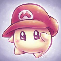 Baby Luma wearing Mario's Hat.