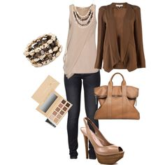 Office Wear, created by leylatn on Polyvore